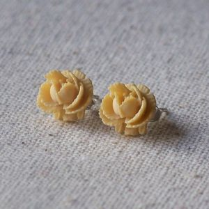 Rose Earrings - wedding jewellery