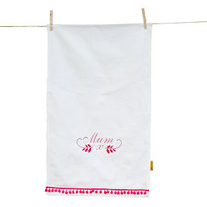 Mum Tea Towel - kitchen accessories