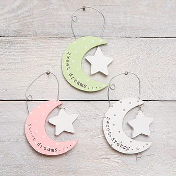 Moon And Star Hanging Decoration