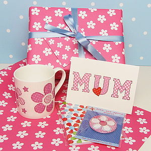 Flower Mug Mother's Day Gift Set