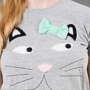Claudette Cat T Shirt
