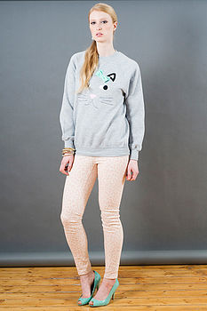Claudette Cat Sweater