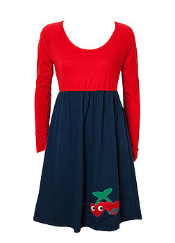 Cherries Jersey Dress