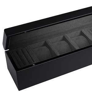 Mens Watch And Cufflink Box