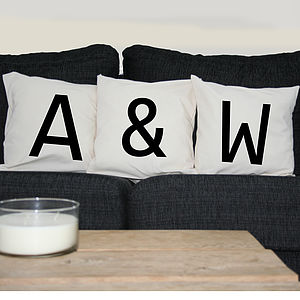 Initial Cushion Cover Set - cushions