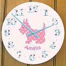 Scottie Dog Wall Clock