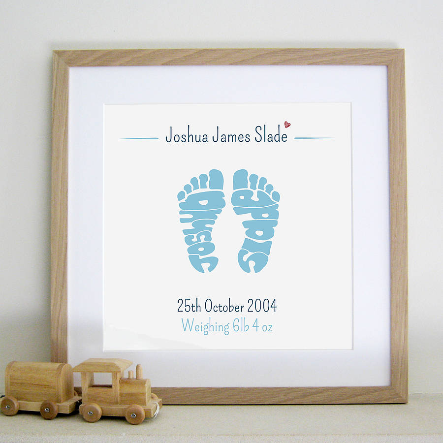 Handprint Picture Frame