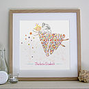 Personalised Flower Fairy Print