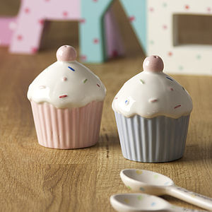 Cupcake Salt And Pepper Set - for star bakers