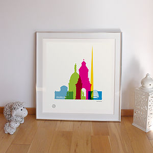 Personalised Dublin Print