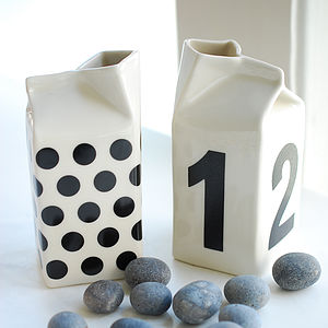 Dots Or Numbers Milk Jug - kitchen