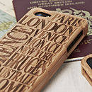Personalised Destination Case For IPhone