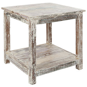 Riteak Paco Stool End Table - furniture