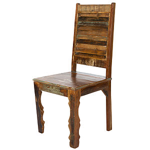 Koteak Shutter Chair - furniture