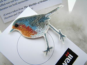 Robin Brooch Pin