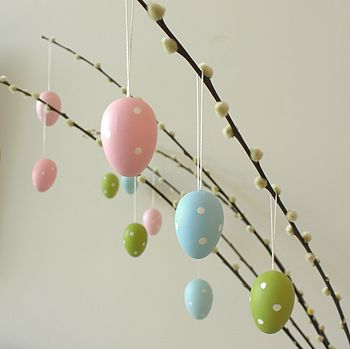 Pastel Polka dot Eggs