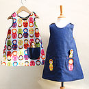 Girl's Russian Doll Summer Dress