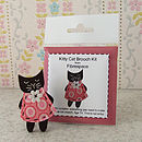 Kitty Brooch Mini Craft Kit