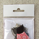 cat brooch kit