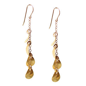 A River Of Gold Earrings