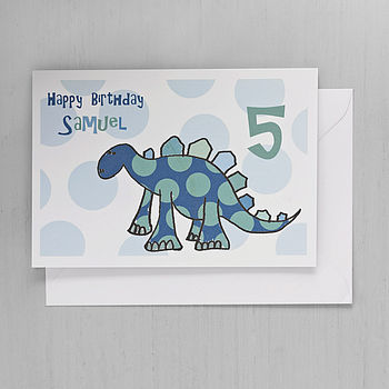 Six Personalised Child's Birthday Cards