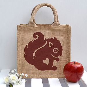Squirrel Lunch Bag - lunch boxes & bags