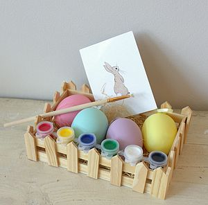 Paint Your Own Easter Egg Kit - summer sale