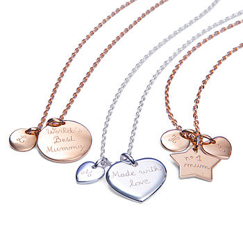 Mother's Personalised Charm Chain Necklace