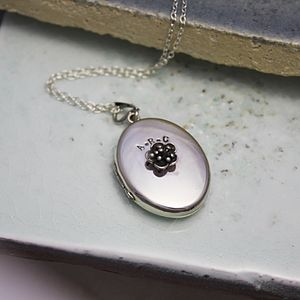 Personalised Flower Locket