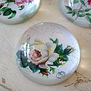 Rose Floral Paperweight