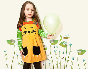 Girls Lion Dress - toys & games