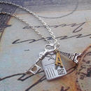 From Paris With Love Charm Necklace
