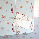 ideal christening  or name day wrapping paper