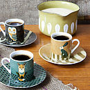 Wildlife Design Espresso Set