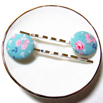 Ditsy Floral Hair Clips