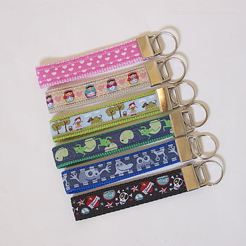 Patterned Key Fob