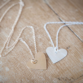 Smitten Heart Necklace