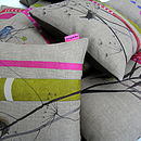 Willow Warbler Cushion