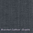 Brushed cotton Granite