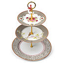 PiP Studio three tier cake stand Khaki