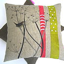 Cow Parsley Cushion