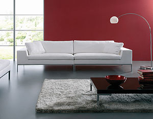 'Woodgate' Modern Three Seater Sofa - furniture