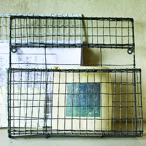 Wire Post Rack - shelves & racks