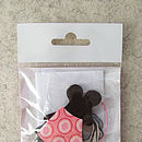 Mouse Brooch Mini Craft Kit
