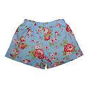 Girl's Roses Shorts