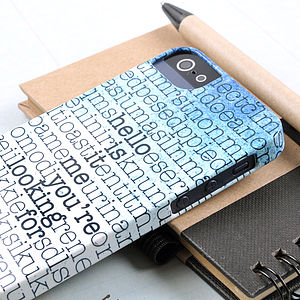 Personalised Hidden Message Case For IPhone