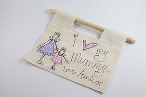 'I Love My Mummy' Hanging Decoration - gifts for children to give