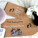 Personalised Baby Miniature Stamp Kit