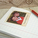 Personalised Polaroid Style Photo Notepad