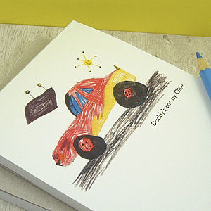 Personalised Drawing Notepad - stationery